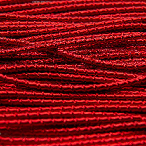 A148. Red heavy wire check purl 1.6mm (2 meters)