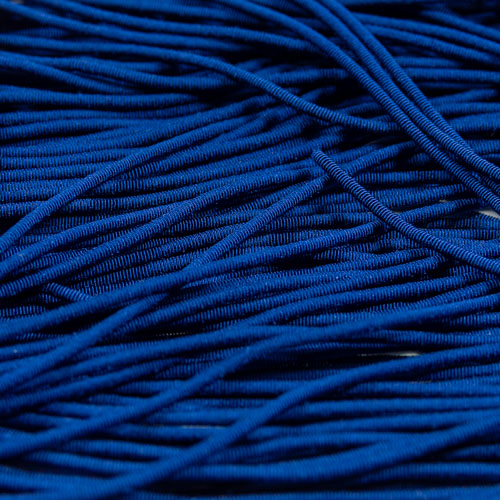 FV07. French blue viscose pearl purl 1.2mm (3 meters)