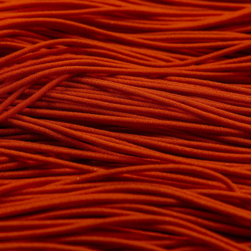 FV12. Orange viscose pearl purl 1.2mm (3 meters)