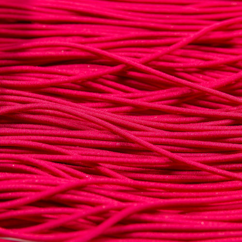 FV05. Cannetille viscose rose 1.2mm (3 mètres)