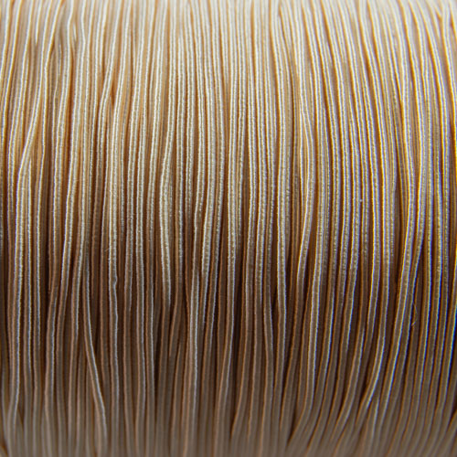 FV56. Beige viscose gimp 1mm (5 meters)