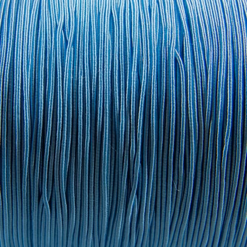 FV58. Light blue viscose gimp 1mm (5 meters)