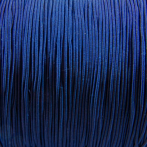 FV57. French blue viscose gimp 1mm (5 meters)