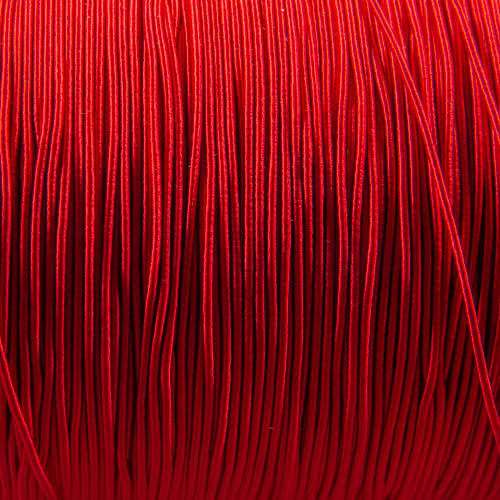 FV59. Red viscose gimp 1mm (5 meters)