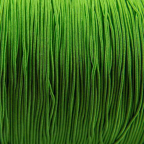FV60. Apple green viscose gimpl 1mm (5 meters)
