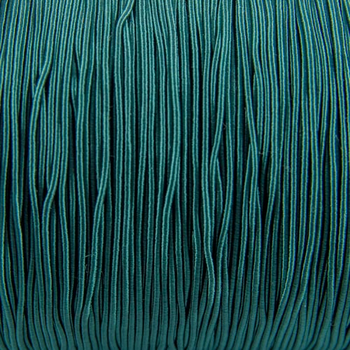 FV61. Dark green viscose gimp 1mm (5 meters)