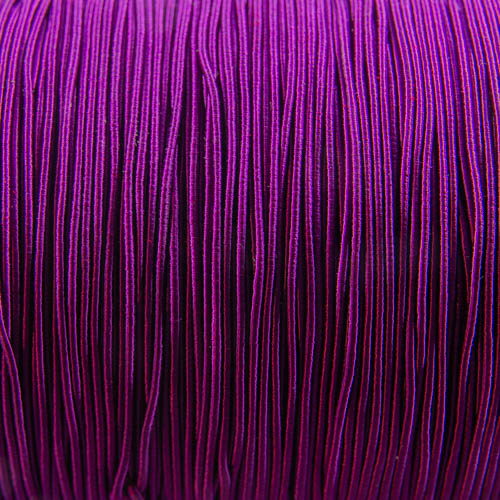 FV52. Purple viscose gimp 1mm (5 meters)