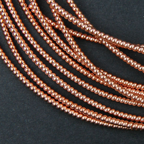 P61. Copper pearl purl 0.75 mm