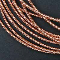 P63. Copper pearl purl 0.9 mm