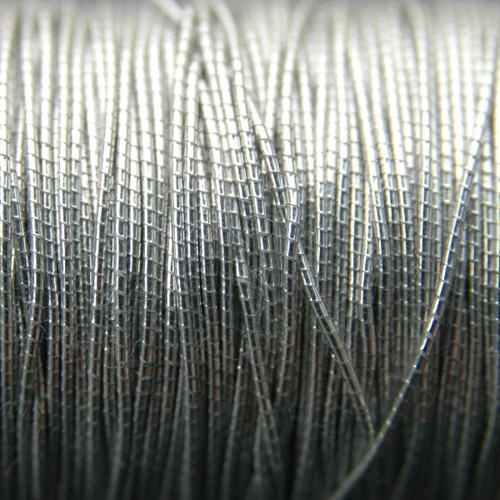 Imitation japanese thread 0,15mm silver (371)