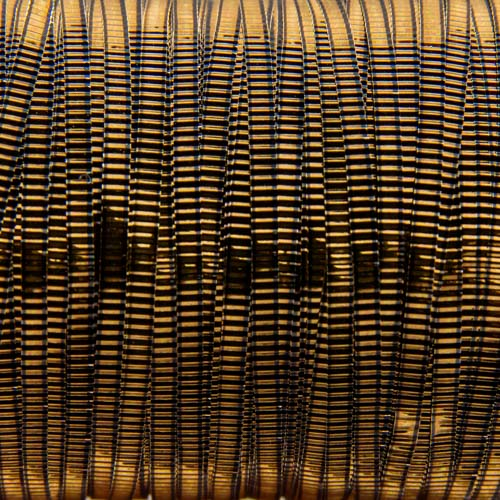 A146. Antique gold lined plate 2mm (3 meters)
