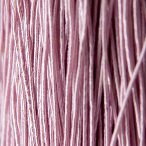 Light rose viscose gimp (5 metres)