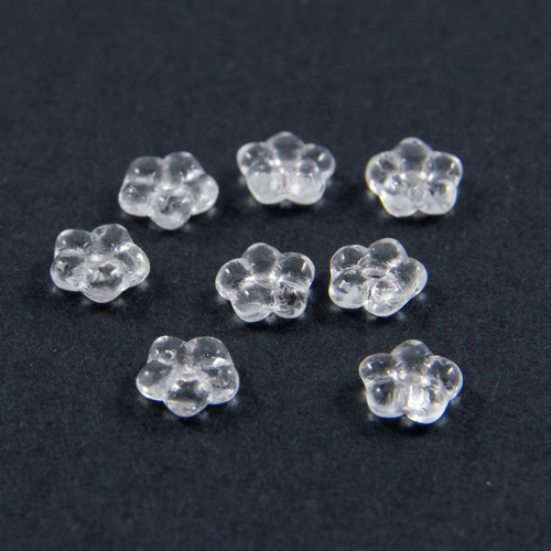 PF01. Crystal flower beads 5mm