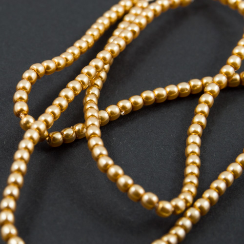 PR28. Perles rondes or 2mm