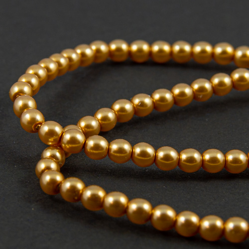 PR44. Perles rondes or 3mm