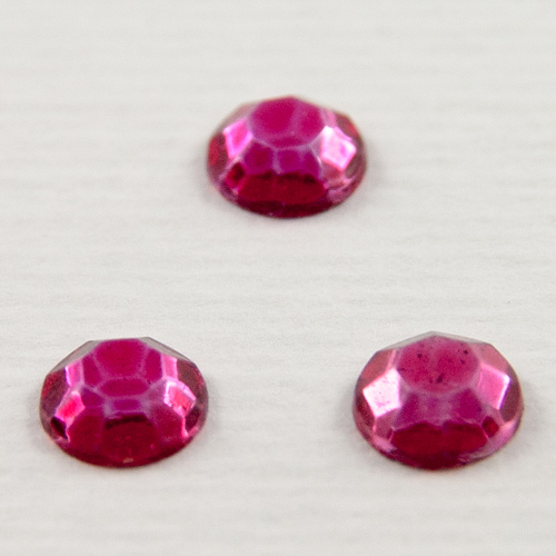 V01. Indian pink sew-on stones 7mm