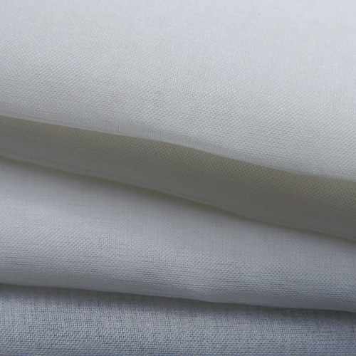 Silk organza white